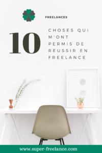 Freelance - les choses à faire pour réussir