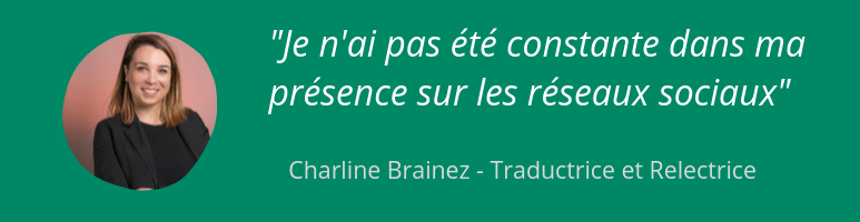 Charline - Traductrice freelance