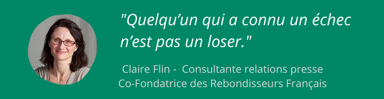 Claire Flin - Gerer echec en freelance