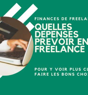 Depenses en freelance