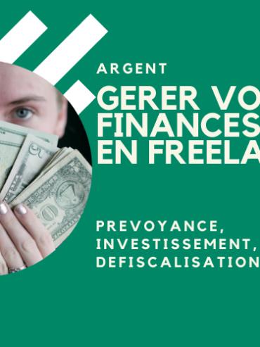 Gérer vos finances en freelance