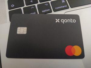 Carte Qonto - banque freelances