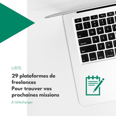 Liste plateformes freelance