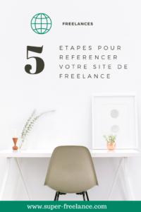 Freelance : référencement de votre site web
