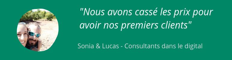 Sonia et Lucas - Freelances