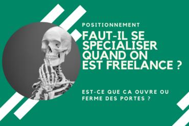 Se spécialiser en freelance