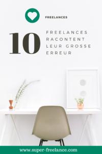 Freelance - les erreurs à éviter